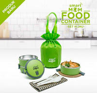 Dusdusan Smart Mom Food Container Set Hijau ANDHIMIND