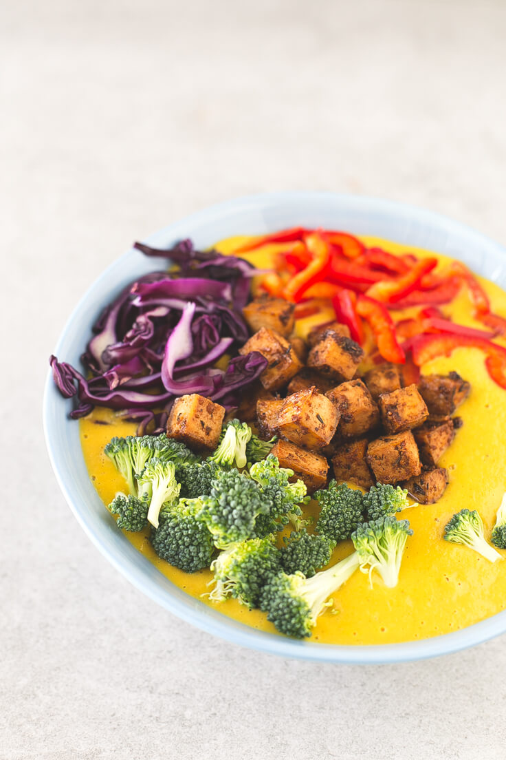 Curry soup recipe | danceofstoves.com #vegan