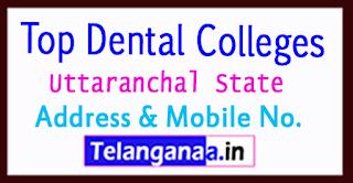 Top Dental Colleges in Uttaranchal