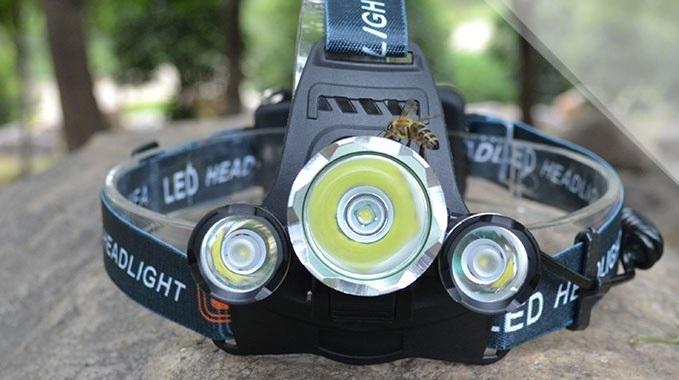 Lampa LED na głowę