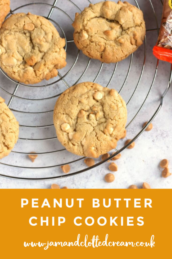 Peanut Butter Chip Cookies #cookies #peanutbutter #baking #easyrecipe