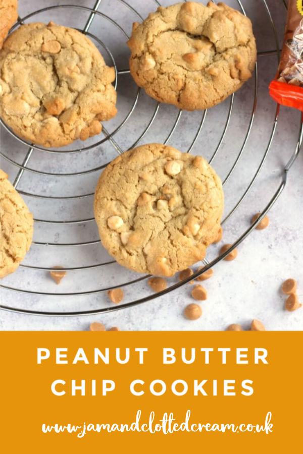 Peanut Butter Chip Cookies #cookies #peanutbutter #baking #easyrecipe