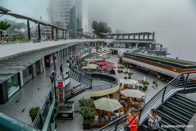 Shopping Larcomar, Miraflores, Lima