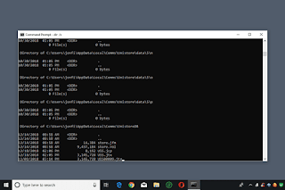 cmd and dos commands on Windows