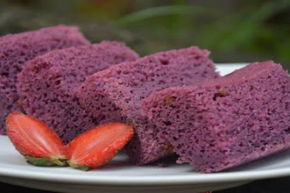 Resep Cake Ubi Ungu