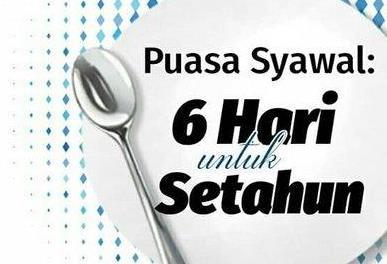 Niat Serta Dalil Puasa Syawal (6 Hari di Bulan Syawal)