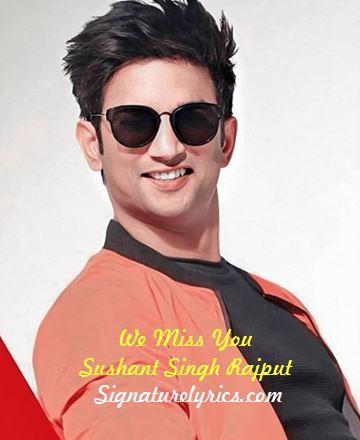 Best Song Of Sushant Singh Rajput