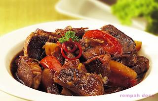 Resep Masak Bistik Lidah Saus Daging