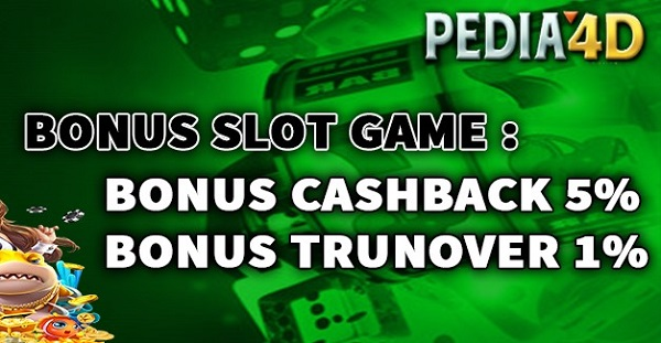 Bonus Slot Online Di Pedia4D