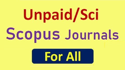 List of Non Paid SCI and Scopus Indexed Computer Science Engineering Journals