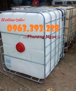 Tank nhựa IBC 1000L đã qua sử dụng, bồn nhựa đựng hóa chất IMG_20150909_111628