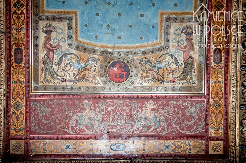 Legnica: malowany sufit