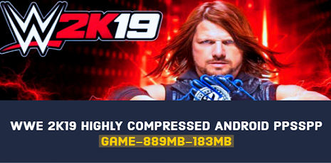 WWE 2k19 Highly Compressed ppsspp For Android 183mb