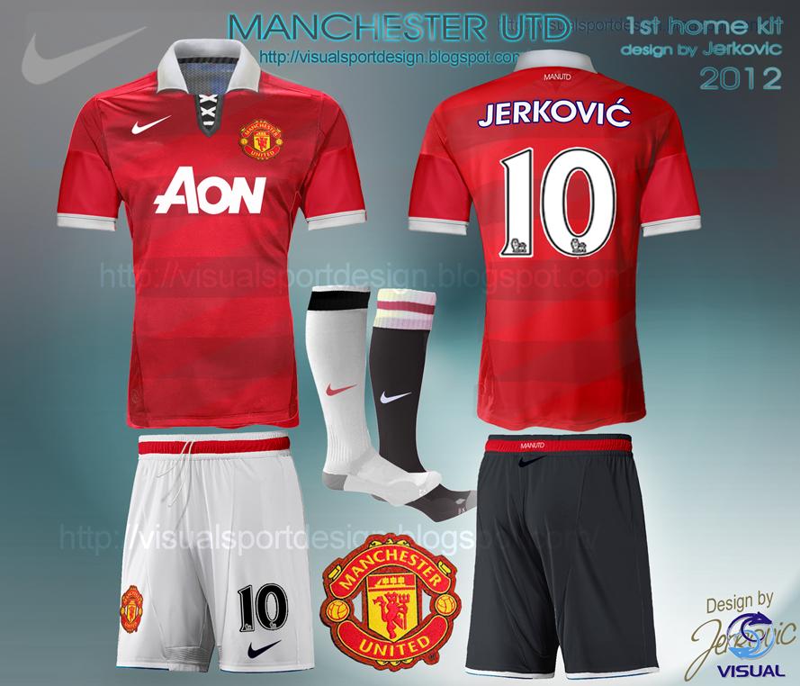 best website e3e0d dc038 Visual Football Fantasy Kit Design: MANCHESTER UNITED