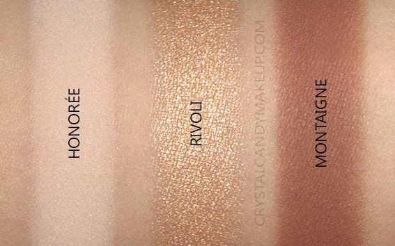 Viseart Golden Hour Eye Shadow Palette Swatches
