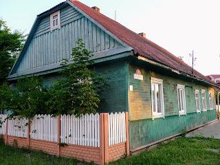 Лунинец. Ул. Советская, 29. Деревянные жилые дома