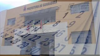 """Guarabira: ponto facultativo do """"Dia do Servidor Municipal"""" é transferido para 1º de novembro"""