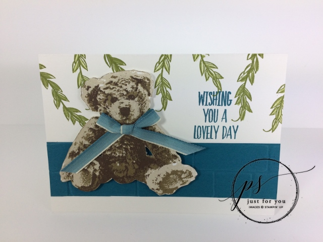 Baby Bear, You're Inspiring, Stampin'Up!, Free print out PDF, frenchiestamps