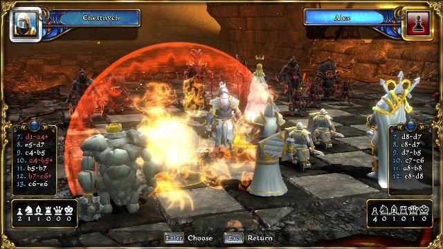 Battle vs Chess PC Games Gameplay