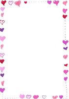 Hjerte Brevpapir