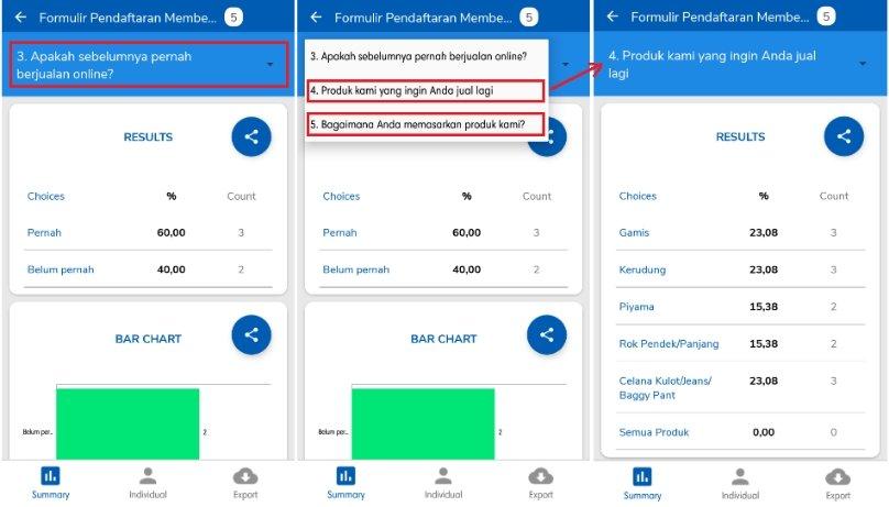 Cara Melihat Hasil Google Forms Di Hp Android Dan Laptop Klik Refresh