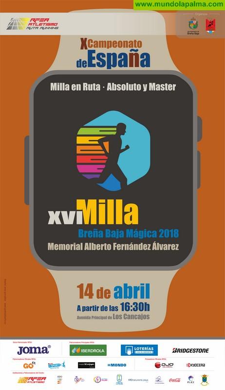 BREÑA BAJA: XVI Milla Urbana Breña Baja Mágica – Memorial Alberto Fernández