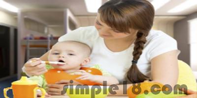 تغذية الطفل في الشهر الاول حتي الثاني عشر