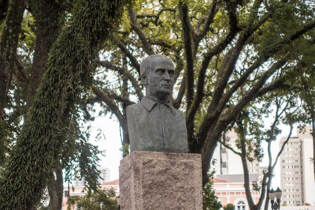 Busto de João Zaco Paraná (ou Jan Żak)