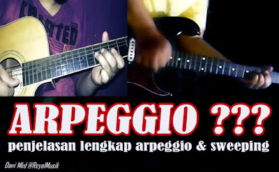 Belajar Gitar Untuk Pemula, Teknik Bermain Arpeggio