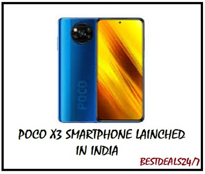 POCO X3 Smartphone launched in India