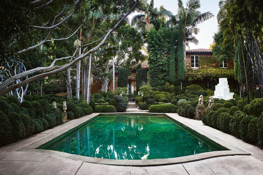 Los Angeles mansion that's a love letter to Italian architecture