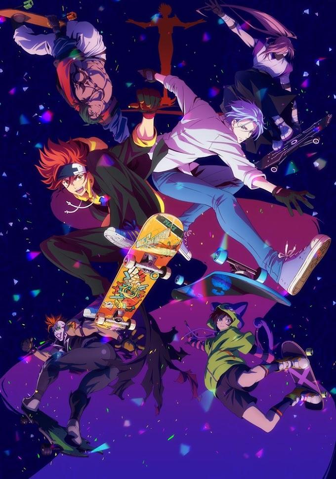 "Rude-α - Paradise Lyrics「TV Anime ""SK8 the Infinity"" OP」"