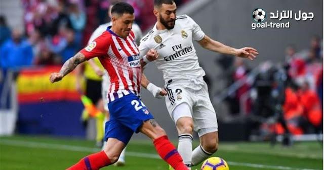 تفاصيل موعد ديربي مباراة اتليتكو مدريد وريال مدريد في الدوري الاسباني والقنوات الناقلة لها
