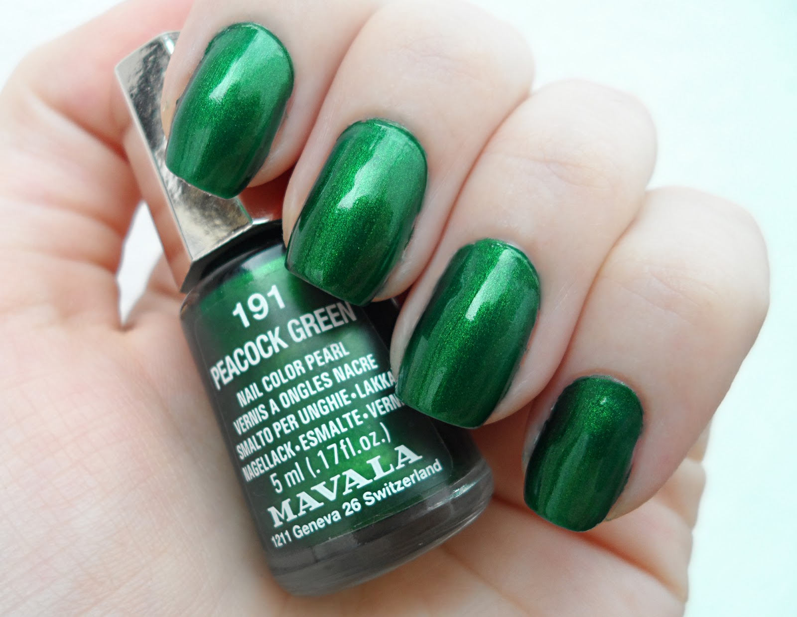 Christmas spring nail polish blogger review swatches mavala lacquer