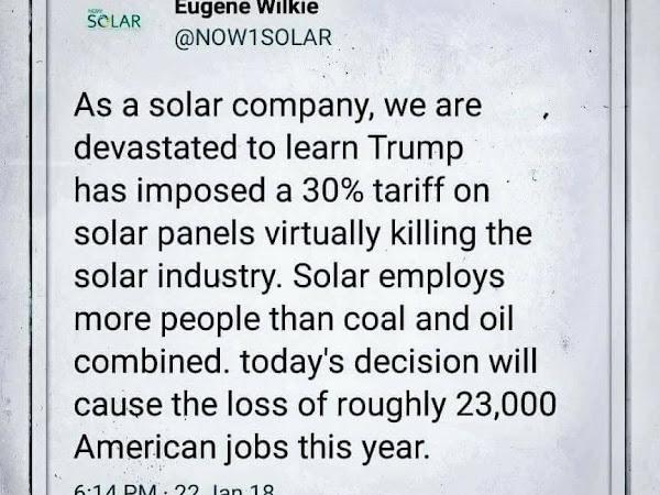 Trump Undermines Energy Independence & Jobs Growth