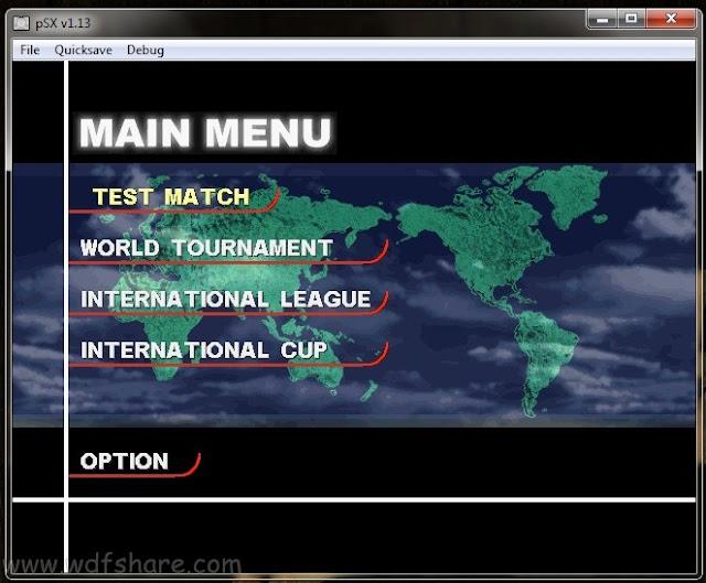 Super Shoot Soccer PS1