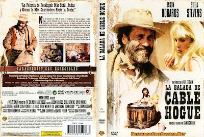 Carátula dvd: La balada de Cable Hogue