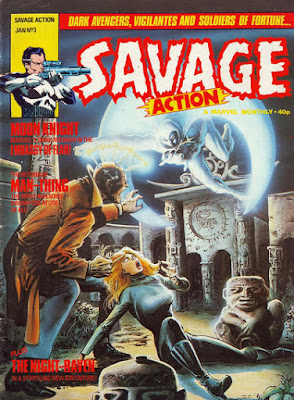 Savage Action #3, Moon Knight