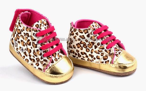 Chaussures doré bébé fille