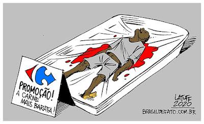 Chage Carlos Latuff para Brasil de Fato