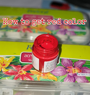 How To Get Red Color