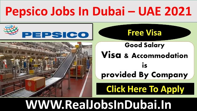 Pepsico Careers Jobs Vacancies In Dubai