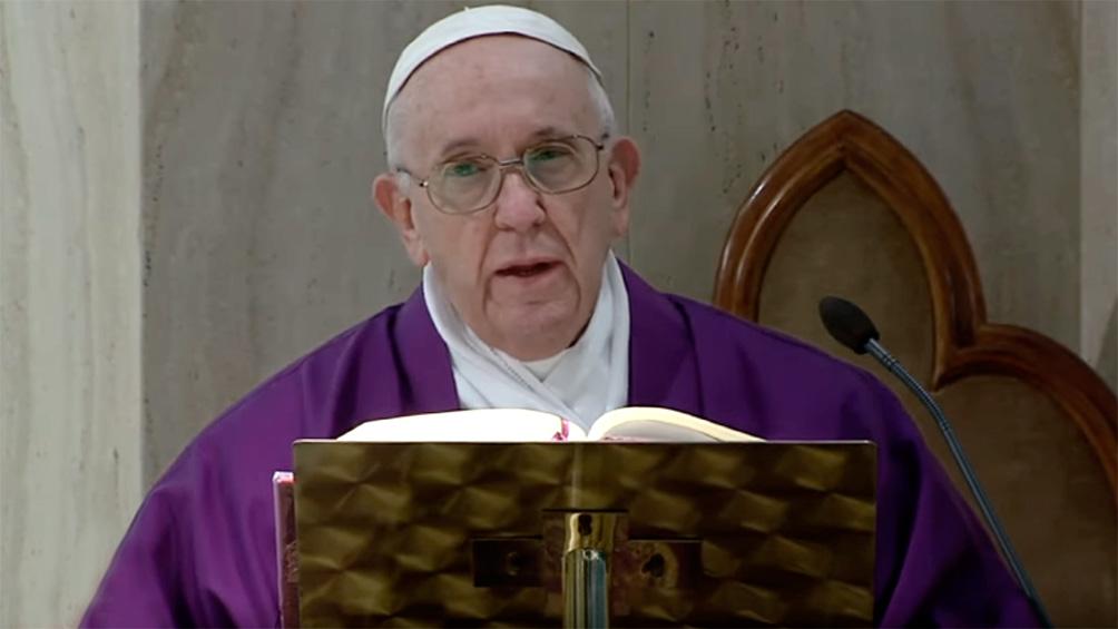 El papa Francisco, sobre el coronavirus: