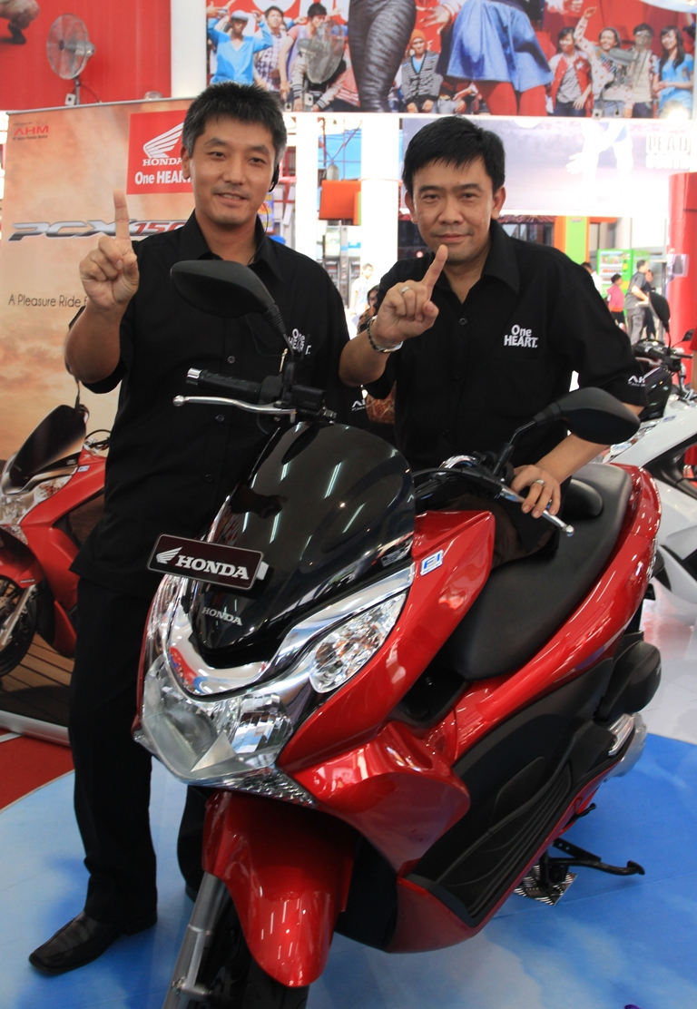 Launching Honda PCX 150