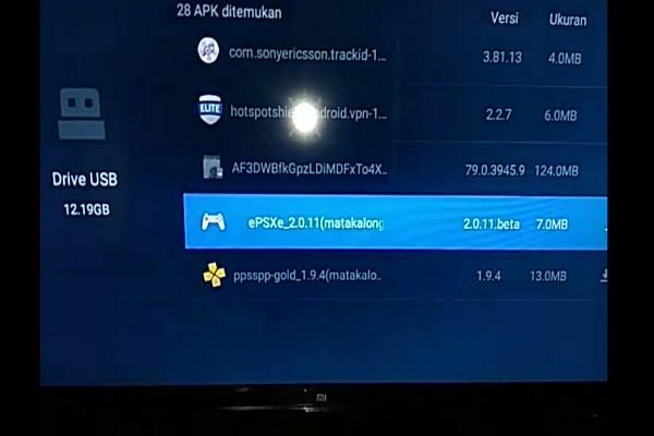 Cara Instal Emulator EPSXE di Smart TV