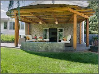 Model Kanopi Kayu Teras Depan Rumah 5