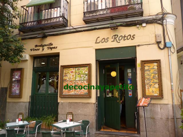 Cocinando con vicky recetas de cocina restaurante for Restaurante lamucca calle prado madrid