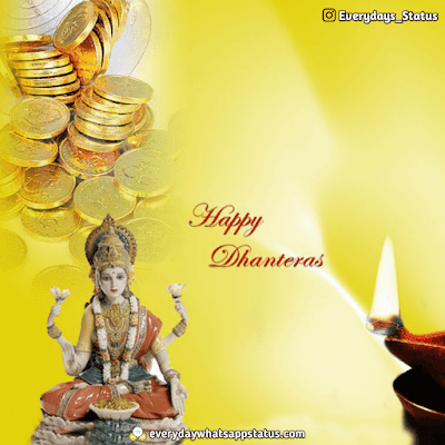 Happy Dhanteras Pic | Everyday Whatsapp Status | UNIQUE 50+ happy Dhanteras Inages Download