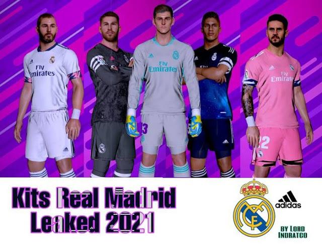 PES 2017 Real Madrid Leaked Kits 2020/2021  By Īndratćo Wawan