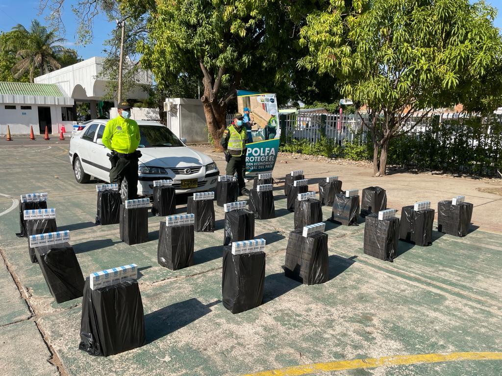 https://www.notasrosas.com/ decomisa siete mil cajetillas de cigarrillos en Valledupar